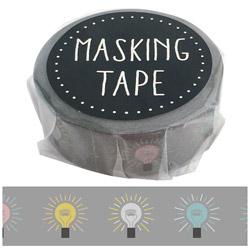 マスキングテープ デンキュウ W01-GMT-0014