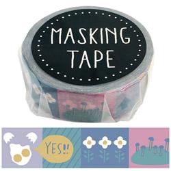 マスキングテープ ポップW01-GMT-0016