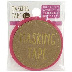 マスキングテープ 4mm Neon PK W01-MT4-0006