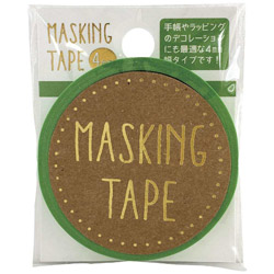 マスキングテープ 4mm Neon GR W01-MT4-0007