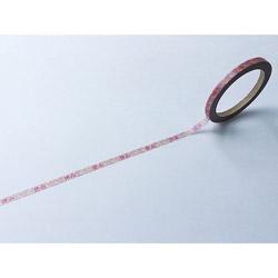 スケジュール用マスキングテープ4mm休み W01-TM4-0002