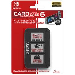 ニンテンドースイッチ専用ゲームカード収納ケース『カードケース6 for ニンテンドーSWITCH ブラック』 -SWITCH- [Switch] [ILXSW197]