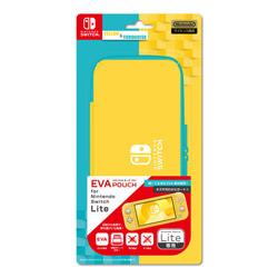 EVAポーチ for Nintendo Switch Lite YELLOW&TURQUOISE ILXSL298 【Switch Lite】