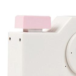 Qlix カメラ QLD001専用シャッターボタン(サクラ・ピンク) QLD01SHSP