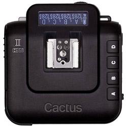 ワイヤレスフラッシュトランシーバーV6 Cactus V6II