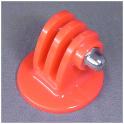 三脚用 プラスチック・クランプマウント レッド GB0107