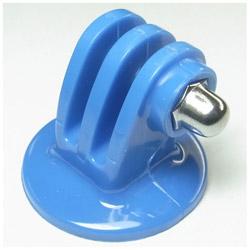 三脚用 プラスチック・クランプマウント ブルー GB0107