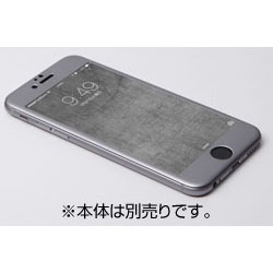 iPhone 6用 W-FACE High Grade Glass&Aluminum Screen Protector スペースグレー DG-IP6FAG4FGY