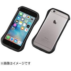 iPhone 6s/6用 CLEAVE Aluminum Bumper メテオブラック DCB-IP6SA6BK