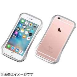 iPhone 6s/6用 CLEAVE Aluminum Bumper コスミックシルバー DCB-IP6SA6SV