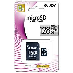 microSDXCカード L-128MS10-U3 ブラック [128GB /Class10]