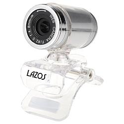 LAZOS WEBカメラ LAZOS720P LAZOS シルバー/クリア LWCCS [有線]