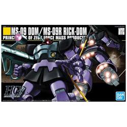 HGUC 1/144 MS-09 ドム/MS-09R リック・ドム【機動戦士ガンダム】