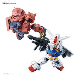 SDガンダムクロスシルエット RX-78-2 ガンダム&シャア専用ザクII【機動戦士ガンダム】