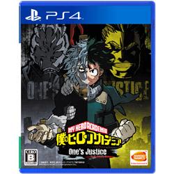 〔中古品〕僕のヒーローアカデミア One's Justice   [PS4]