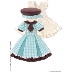 ピコニーモ用ウェア 1/12 ピコDパティシエールガールセット チョコミント ドールウェア