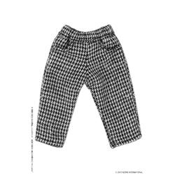 ピコニーモ用ウェア 1/12 カジュアルハーフパンツ ホワイト×ブラック ドールウェア