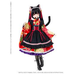 Black Raven シリーズ リリア〜大正浪漫〜黒猫 1/3 ドール