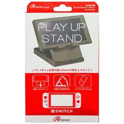 【在庫限り】 Switch用 プレイアップスタンド [Switch] [ANS-SW030BK]