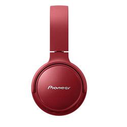 Pioneer(パイオニア) ブルートゥースヘッドホン  レッド SE-S6BN(R) [リモコン・マイク対応 /Bluetooth /ノイズキャンセリング対応]