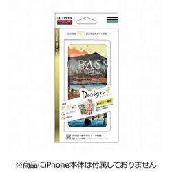 iPhone 7用 GLASS PREMIUM FILM 全画面保護 Design + 0.33mm 浮世絵 道中 LEPLUS LP-I7FGFD31