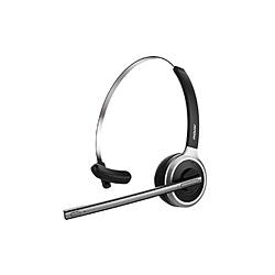 MPOWJAPAN ヘッドセット M5 ブラック MPBH078ABJP [ワイヤレス(Bluetooth) /片耳 /ヘッドバンドタイプ]