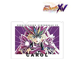 戦姫絶唱シンフォギアXV キャロル・マールス・ディーンハイム Ani-Art 第2弾 クリアファイル