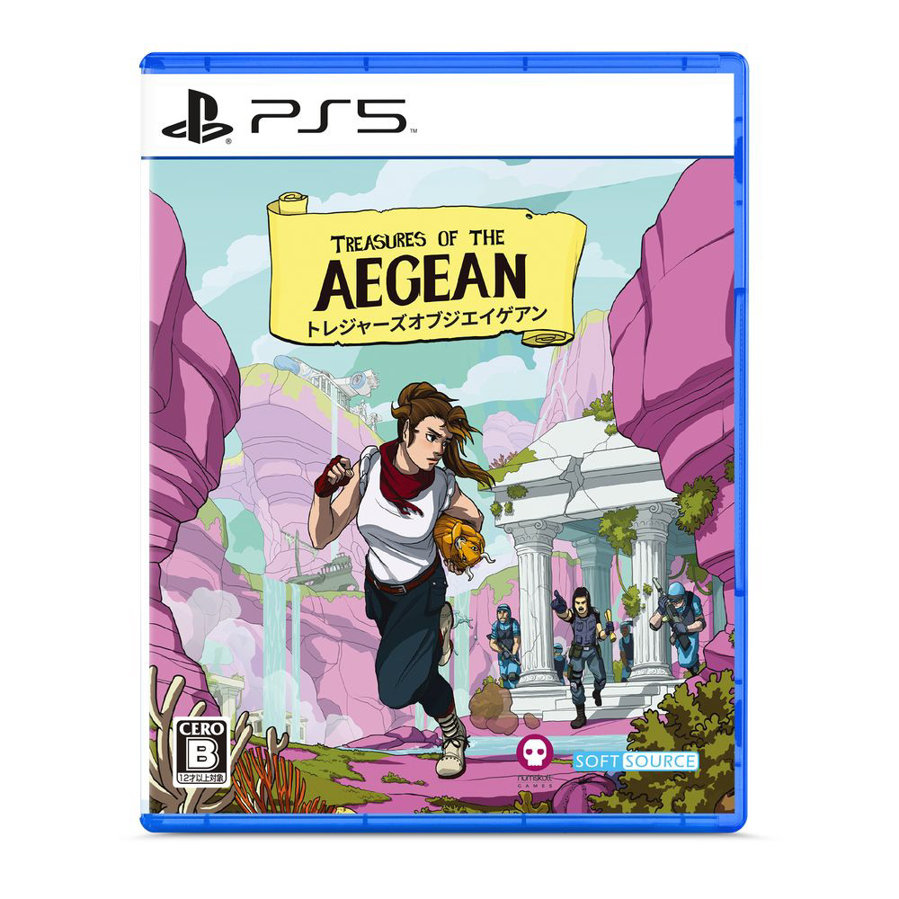 TREASURES OF THE AEGEAN 【PS5ゲームソフト】