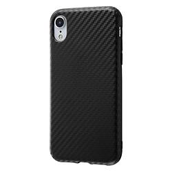 iPhone XR 耐衝撃ケース エアリータフ カーボン/カーボンブラック カーボンブラック INA-P18CP3/CB