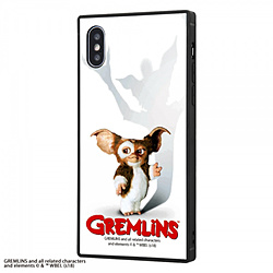 iPhone XS / X /グレムリン/耐衝撃ガラスケース KAKU/GREMLINS IQ-WP20K1B/GR001 GREMLINS