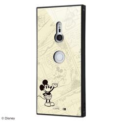 Xperia XZ3 /『ディズニーキャラクター OTONA』/耐衝撃ガラスケース KAKU/『ミッキーマウス』_26 IQ-RDXZ3K1B/MK001