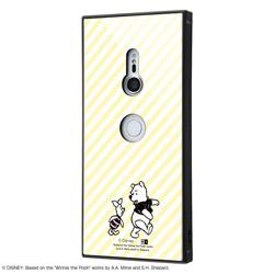 Xperia XZ3 /『ディズニーキャラクター OTONA』/耐衝撃ガラスケース KAKU/『くまのプーさん』_32 IQ-RDXZ3K1B/PO001