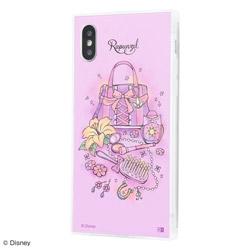 iPhone XS / X /『ディズニーキャラクター OTONA』/耐衝撃ガラスケース KAKU SILK/『ラプンツェル/OTONA Princess』 IQ-DP20K2C/RZ001