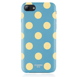 JTLEGEND iPhone8/7 Polka PU Leather Back Case/Banana Lagoon JT-PO-IP8-BL Banana Lagoon