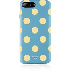 JTLEGEND iPhone8/7Plus Polka PU Leather Back Case/Banana Lagoon JT-PO-IP8P-BL Banana Lagoon