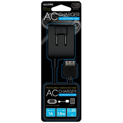 PSVITA(PCH-1000用) AC充電器 ブラック 【PSV(PCH-1000)】 [ALG-PVACK]