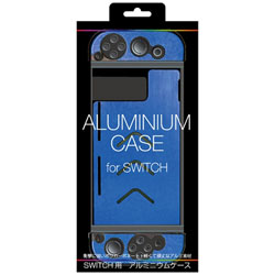 SWITCH用 アルミニウムケース ブルー [Switch] [ALG-NSALBL]