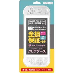 アローン Switch Lite用 クリアケース (Sofmap保証パッケージ) BKS-NSMCCWW 【Switch Lite】
