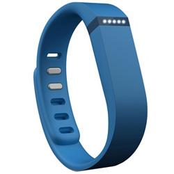 ウェアラブル活動量計(リストバンドタイプ) ワイヤレス活動量計+睡眠計リストバンド 「Fitbit Flex」 FB401BU-JPN ブルー