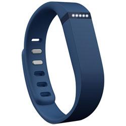 ウェアラブル活動量計(リストバンドタイプ) ワイヤレス活動量計+睡眠計リストバンド 「Fitbit Flex」 FB401NV-JPN ネイビー