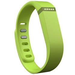 ウェアラブル活動量計(リストバンドタイプ) ワイヤレス活動量計+睡眠計リストバンド 「Fitbit Flex」 FB401LE-JPN ライム