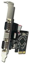 インターフェースボード RS232Cx2[PCI Express] E2SL ロープロファイル対応