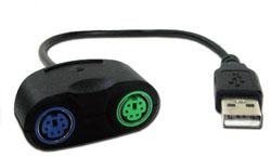 コンバティーノ SD-PS2CUSB (USB-PS/1変換ケーブル)