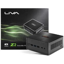 LIVA Z2 デスクトップPC[モニター無し /intel Celeron /eMMC 32GB /メモリ 4GB /2018年10月モデル]