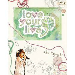"[Used] Aki Toyosaki First Concert Tour ""love your live"" [Blu-ray]"