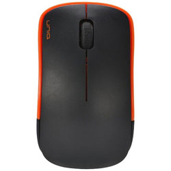 ワイヤレス光学式マウス[2.4GHz USB・Win/Mac] 静音 The Silent Mouse IM367G (3ボタン・オレンジ) IM367GOR