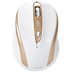 ワイヤレス光学式マウス[2.4GHz USB・Win/Mac] 静音 The Silent Mouse IM612G (6ボタン・ホワイト) IM612GWH
