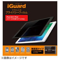 iPad 9.7インチ / iPad Air 2用 マグネット式プライバシーフィルム iGuard(横画面タイプ) IG97PFL