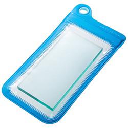 スマートフォン用[幅 73mm/5.2インチ] Splash Proof Case (ブルー) [PRECISION] SPC104BL