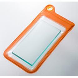 スマートフォン用[幅 73mm/5.2インチ] Splash Proof Case (オレンジ) [PRECISION] SPC104OR